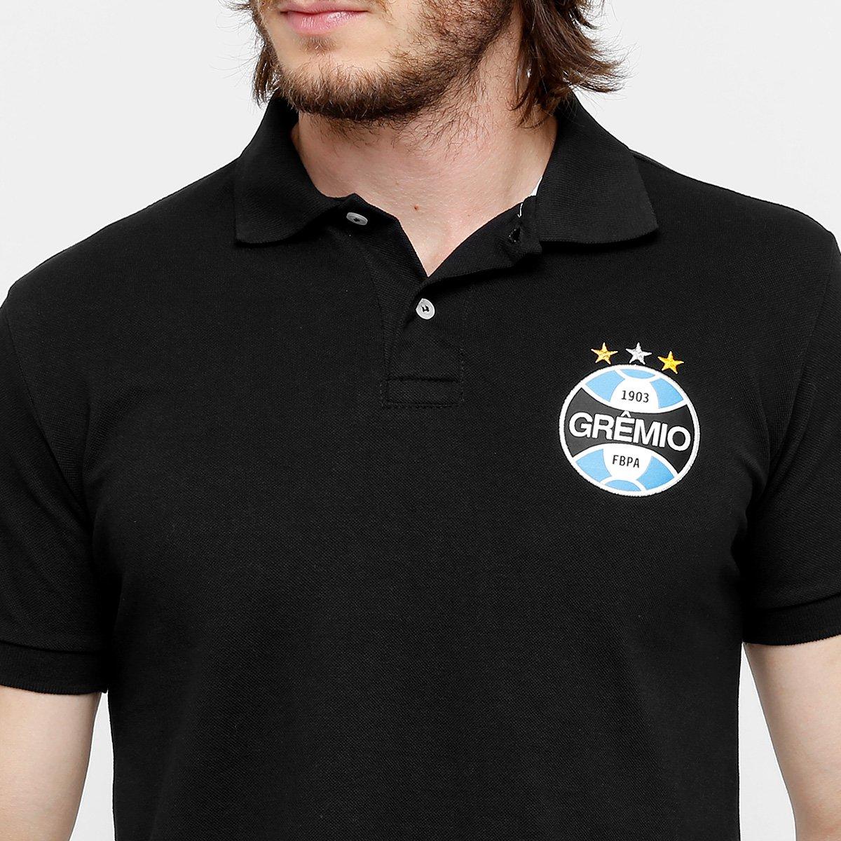 Camisa Polo Grêmio Básica Masculina - Compre Agora  8a7c048fc7066