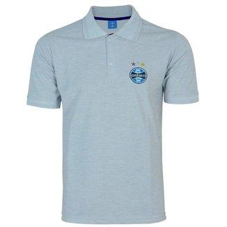 Camisa Polo Grêmio Masculina Futebol Confortável Dia a Dia