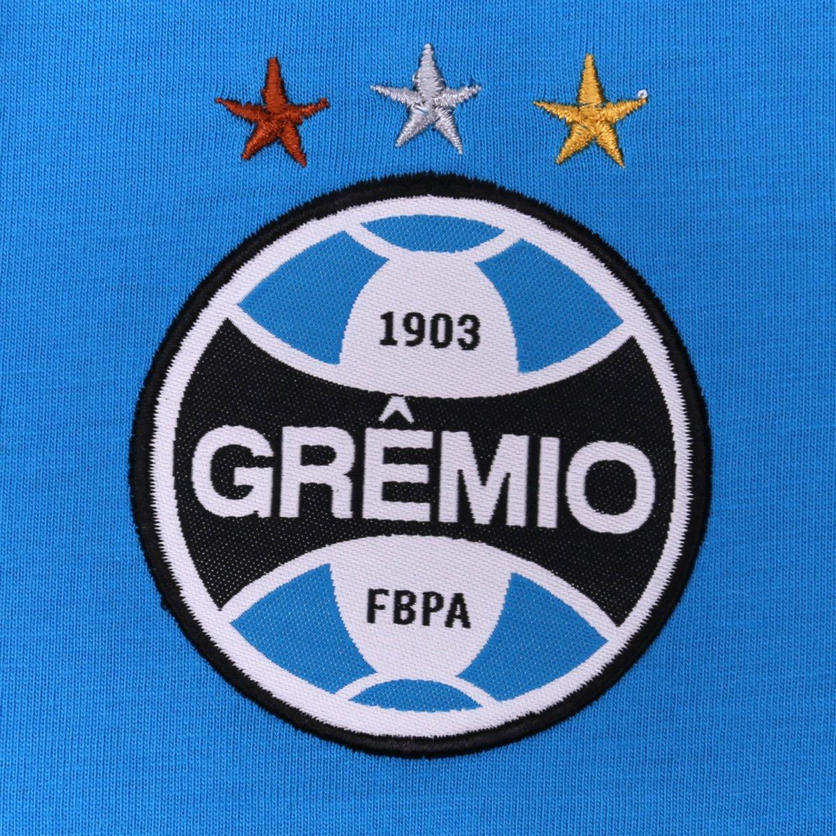 Camisa Polo Grêmio Masculina - Azul - Compre Agora  6907e5d2e1290