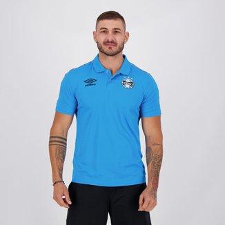 Camisa Polo Grêmio Viagem 21/22 Umbro Masculina