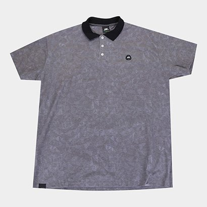 Camisa Polo Hd Plus Size Geometric Masculina