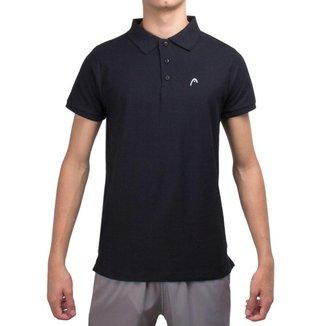 Camisa Polo Head HE7007 Preta