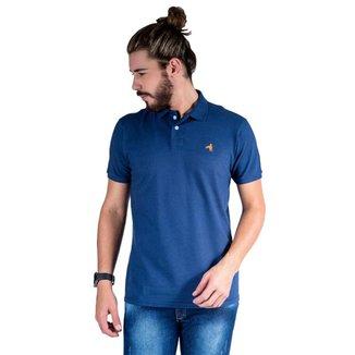 Camisa Polo Hipica Polo Club Estilo Algodão Masculina