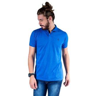 Camisa Polo Hipica Polo Club Meia Malha Coton Masculina