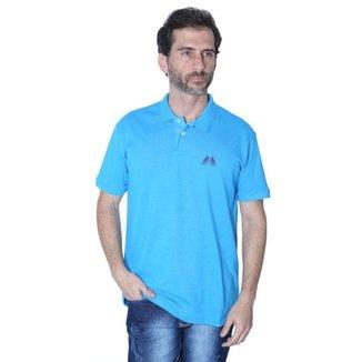 Camisa Polo Hipica Polo Club New York Style Turquesa Masculina