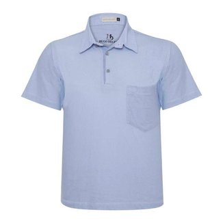 Camisa Polo Hugo Deleon Bolso Confort Sarja