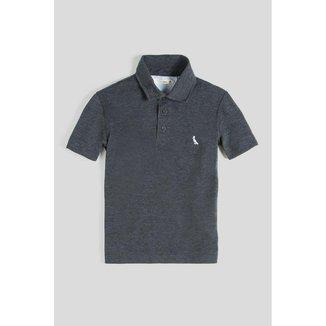 Camisa Polo Infantil Cont Pala Interna Listrada Reserva Mini Masculina