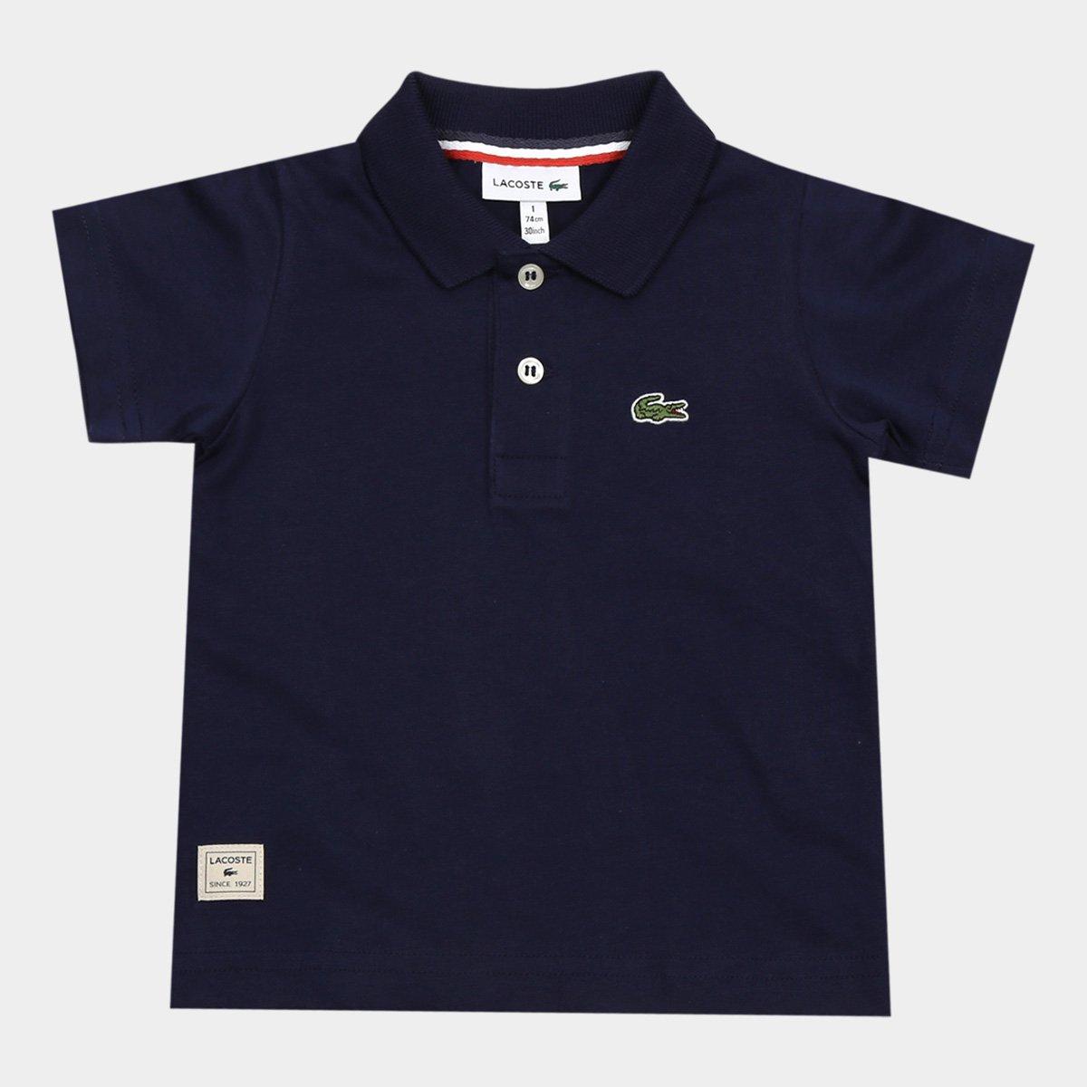 2ff85d59a8d2b Camisa Polo Infantil Lacoste Masculina - Compre Agora