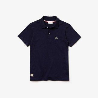 Camisa Polo Infantil Lacoste Regular Fit Masculina