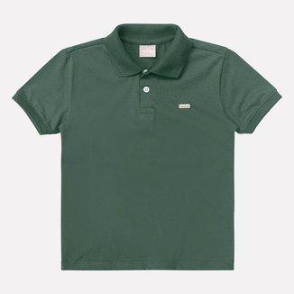 Camisa Polo Infantil Masculina Milon Meia Malha 8322.0001.10 Milon