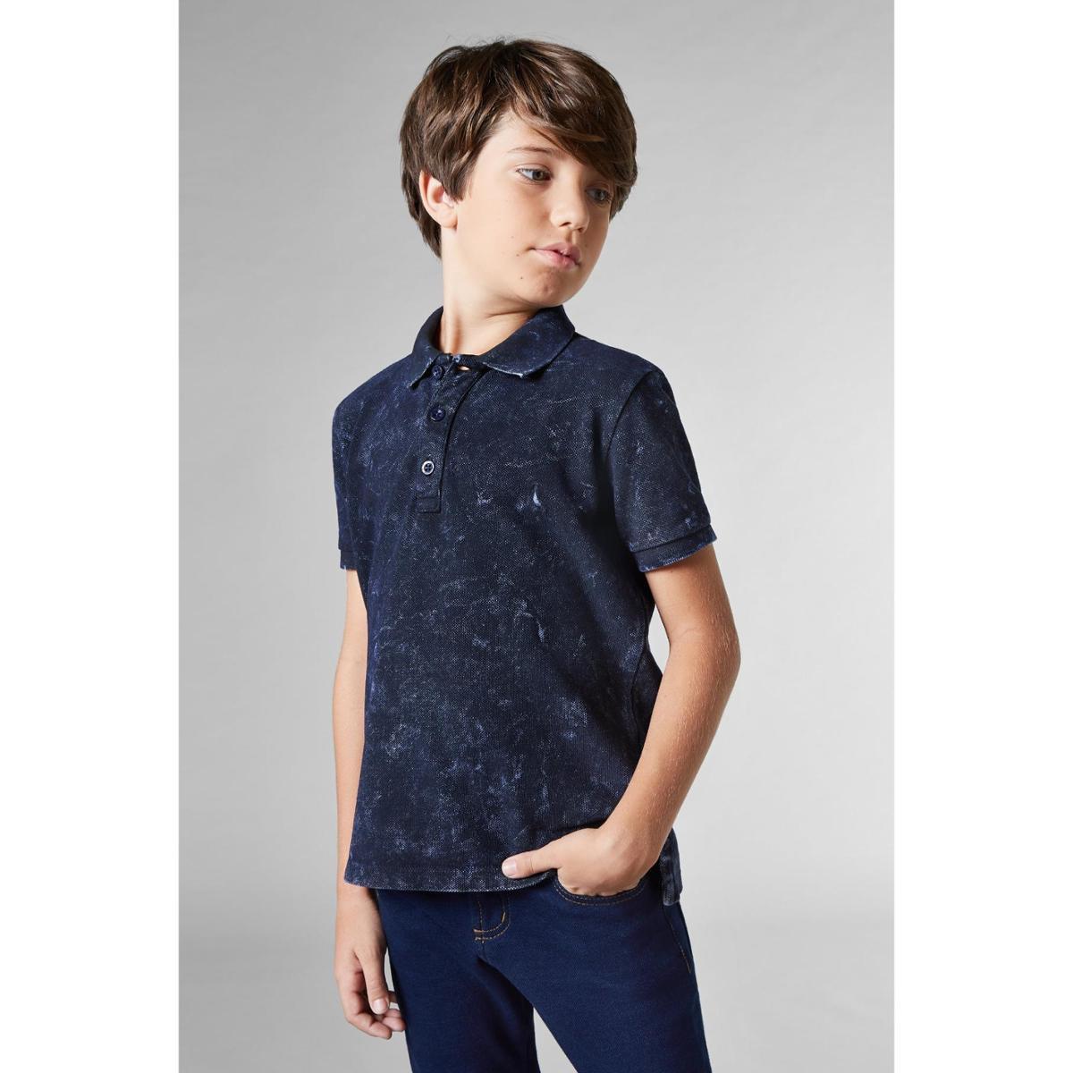 Camisa Polo Infantil Petrolina Reserva Mini Masculina - Marinho ... e6c513e1865d8
