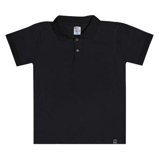 Camisa Polo Infantil Pulla Bulla Básica Masculina