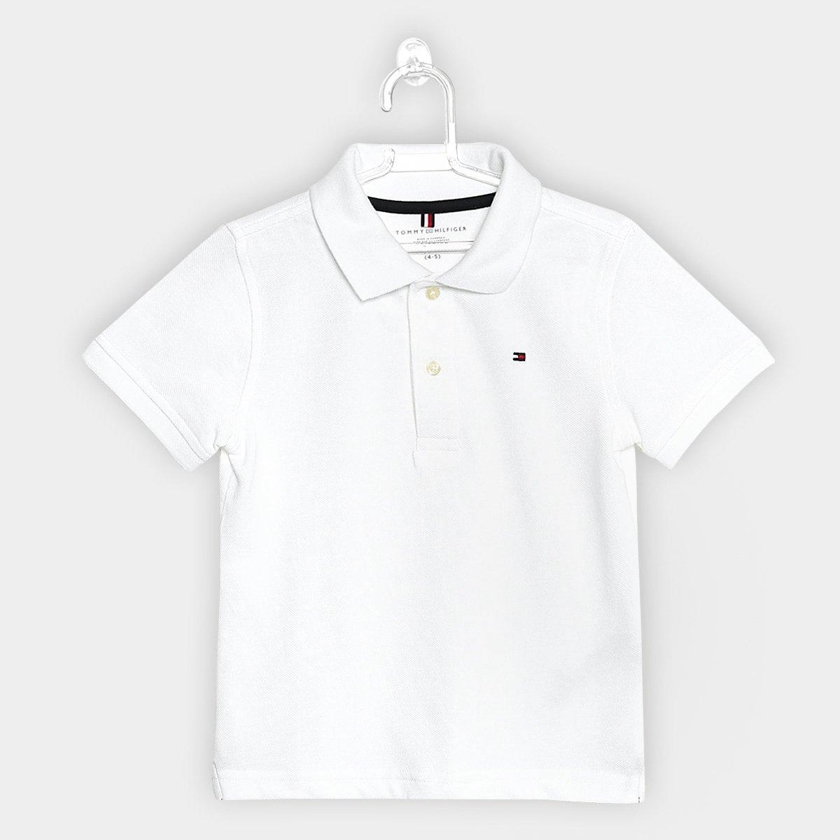 910064c44 Camisa Polo Infantil Tommy Hilfiger Masculina - Compre Agora | Netshoes