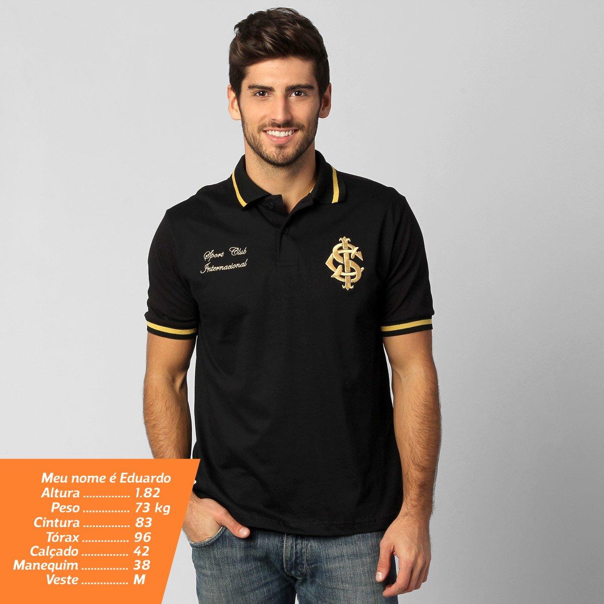 Camisa Polo Internacional Ouro - Compre Agora  19709be558035