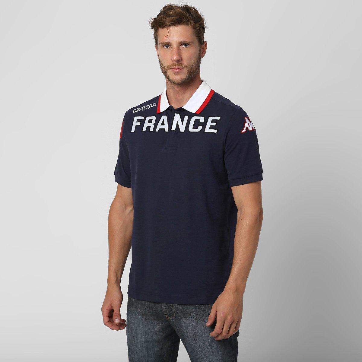 Camisa Polo Kappa Eroi França - Compre Agora   Netshoes d31ec07dc8