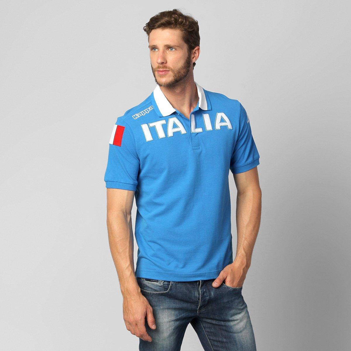 Camisa Polo Kappa Eroi Itália - Compre Agora  6e014a680db45