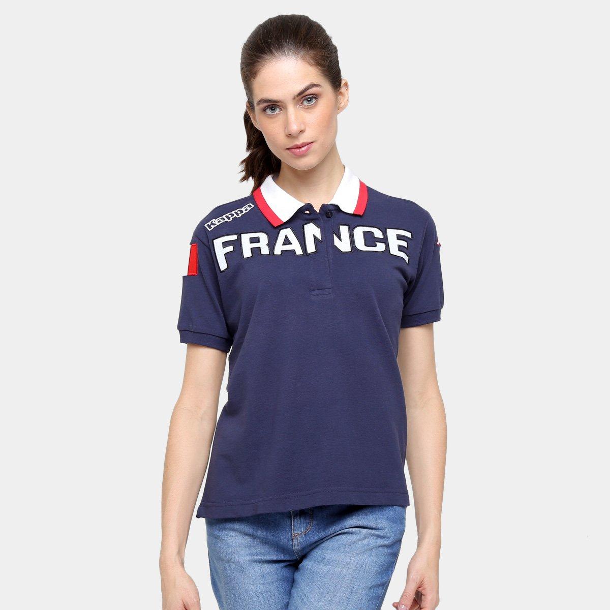 Camisa Polo Kappa Eroi Lady França - Compre Agora   Netshoes 3a64ae1f47