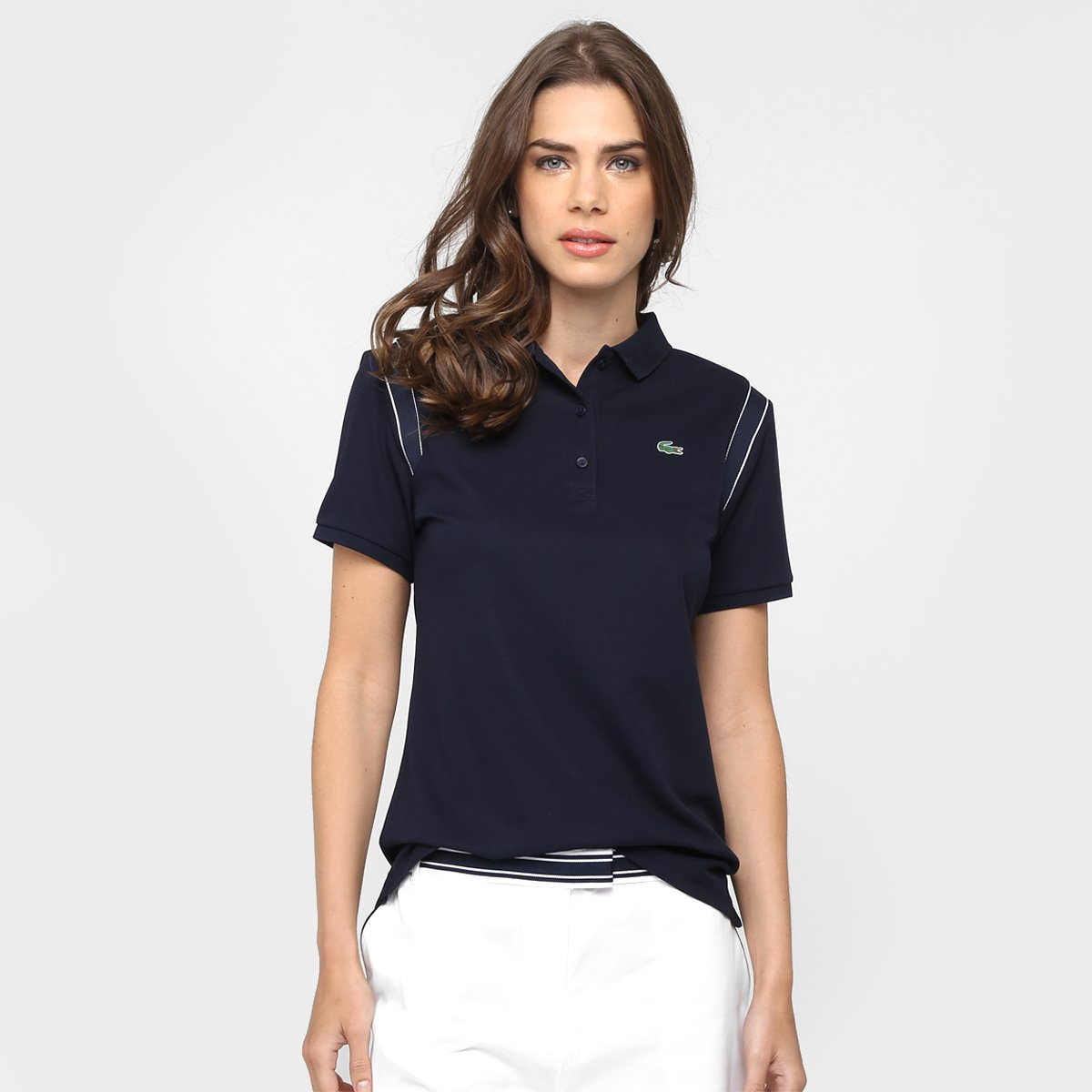 9aa38d8d6fbfe Camisa Polo Lacoste Listrada Fancy Gola Gancho - Compre Agora   Netshoes