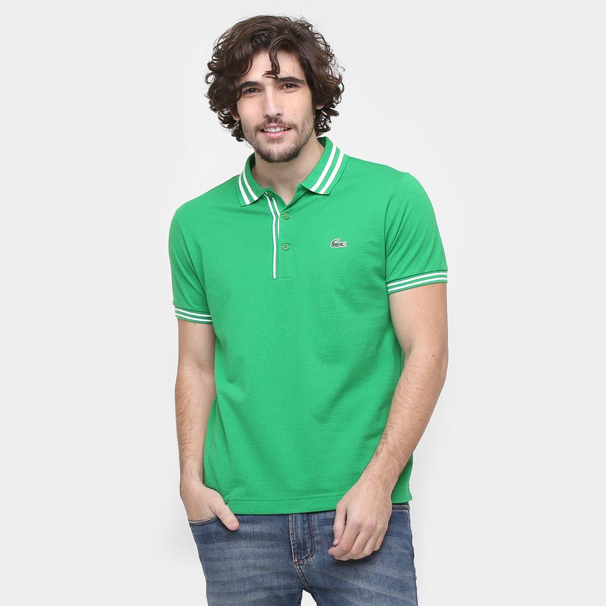 0de563312f Camisa Polo Lacoste Listrada Fancy - Compre Agora