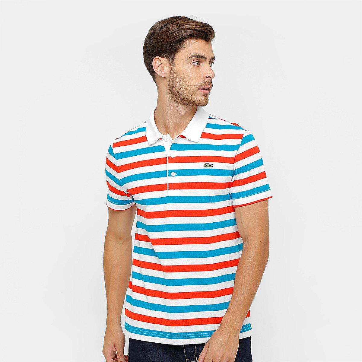 797b31da24f Camisa Polo Lacoste Listrada Masculina - Compre Agora