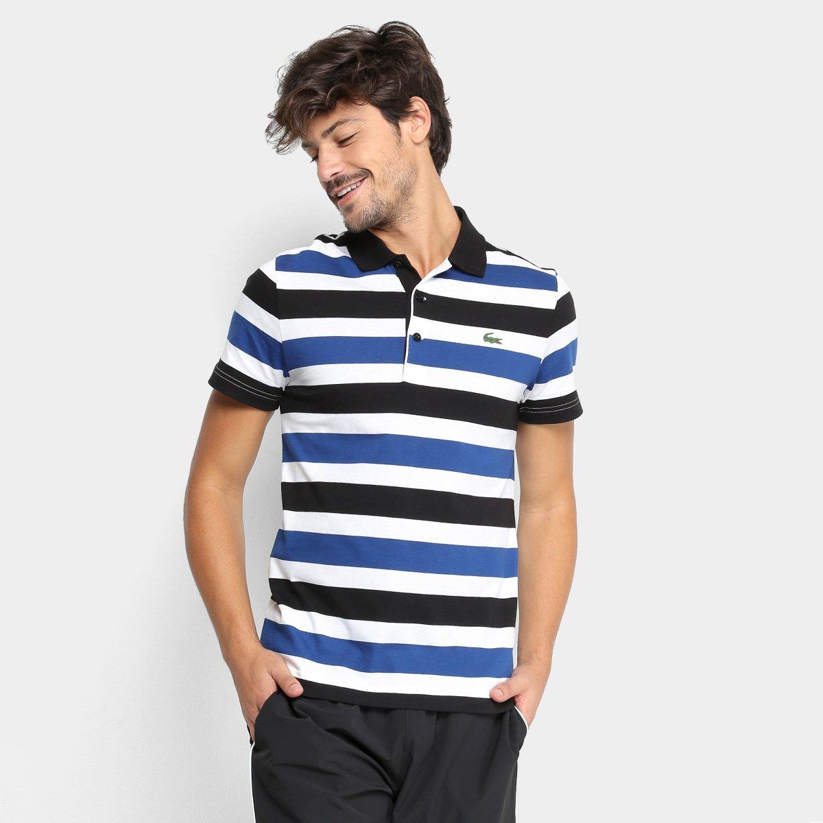 2798841e2 Camisa Polo Lacoste Listrada Masculina - Compre Agora