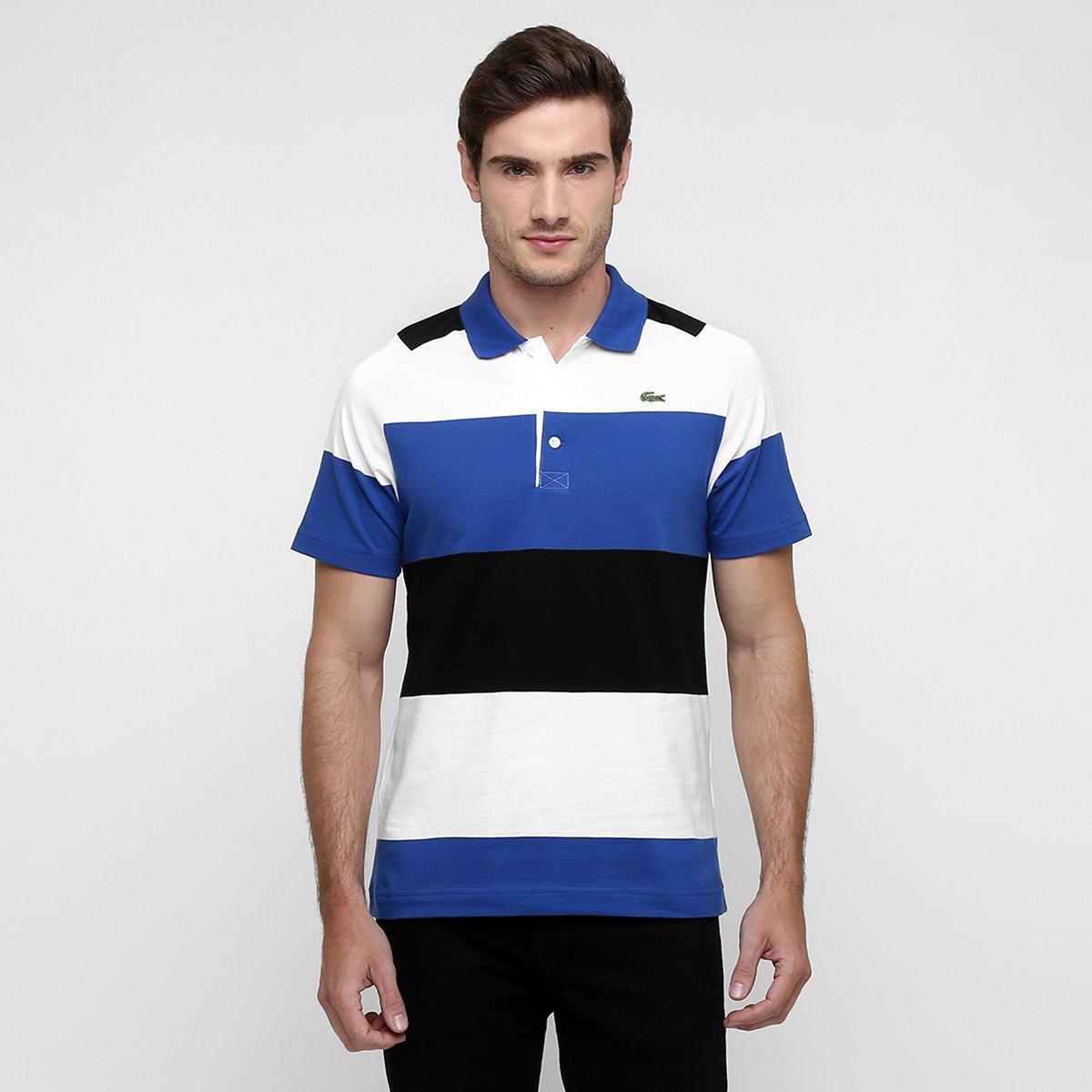 4946a0e8291f3 Camisa Polo Lacoste Listrada - Compre Agora