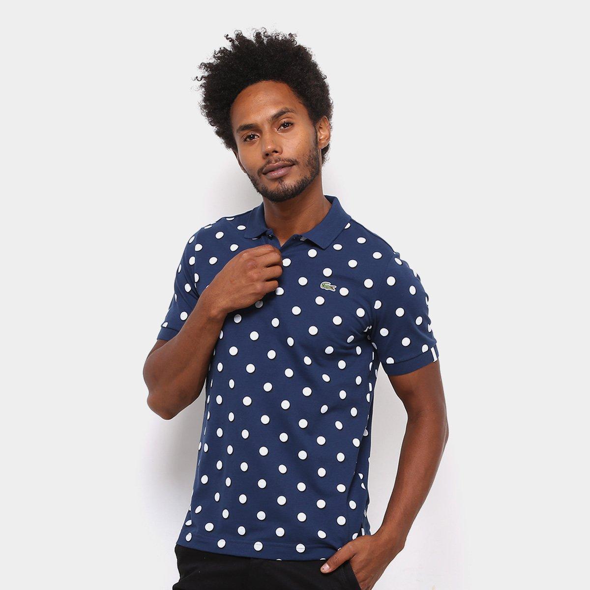 Camisa Polo Lacoste Live Piquet Full Print Masculino - Compre Agora ... 46c61111a7cbd