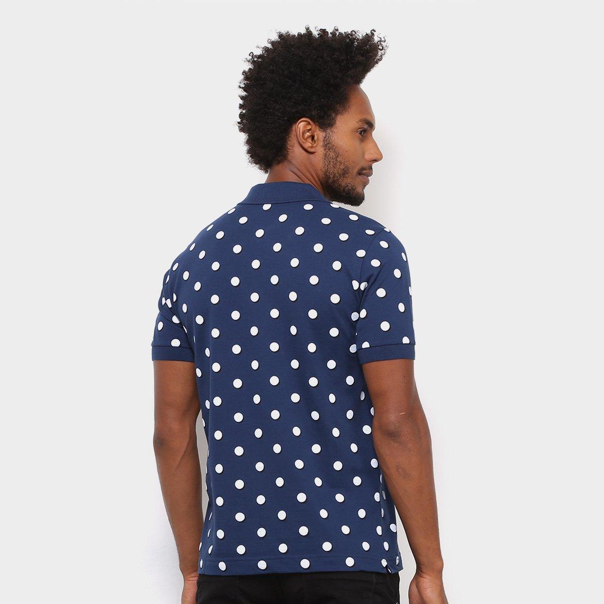 Camisa Polo Lacoste Live Piquet Full Print Masculino - Compre Agora ... 0ec3584b84