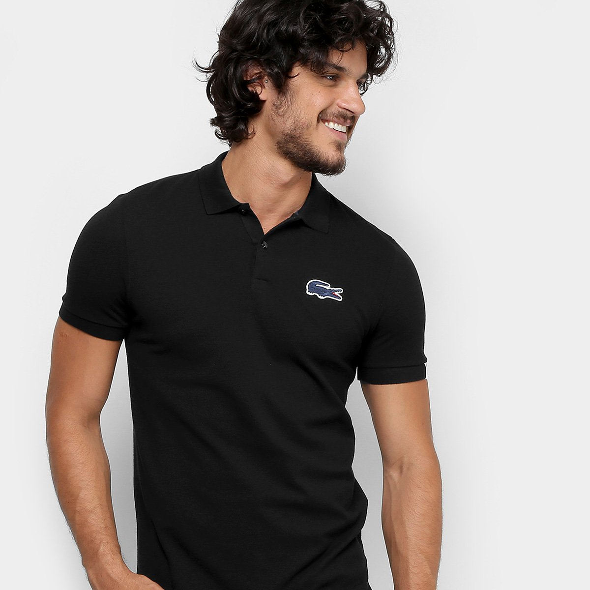 8e2f67e924239 Camisa Polo Lacoste Live Piquet Masculina - Compre Agora   Netshoes