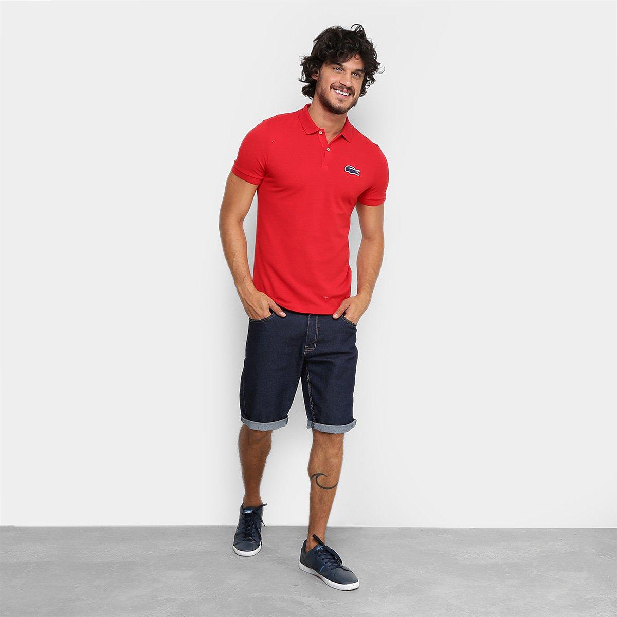 ebe3ed6719 Camisa Polo Lacoste Live Piquet Masculina - Compre Agora