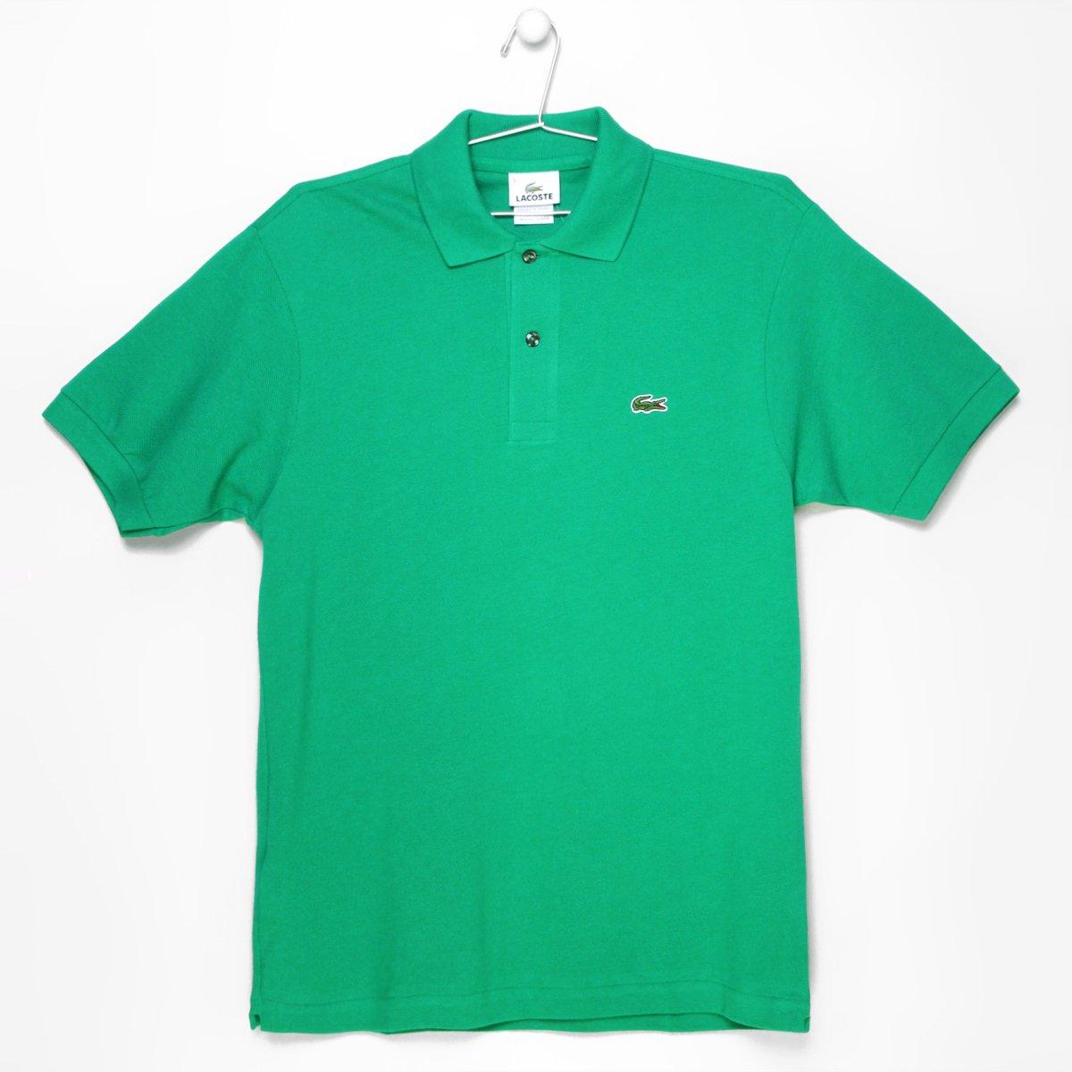 a7da6ef99c960 Camisa Polo Lacoste Original Fit Masculina - Verde Limão - Compre ...