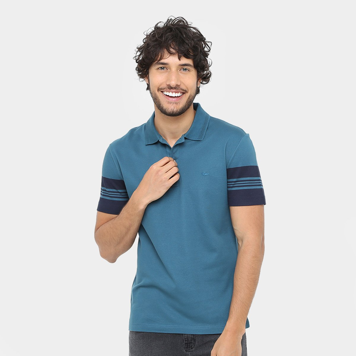 Camisa Polo Lacoste Piquet Fancy Slim Fit Masculina - Compre Agora ... fe3b5bf6ad54d