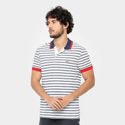 d1f7c96b0985a Promoção de Camisa polo lacoste piquet listras coloridas infantil ...