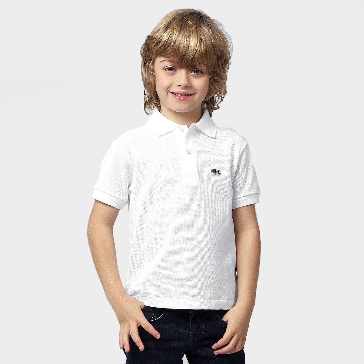 0298709ab4e2c Camisa Polo Lacoste Piquet Infantil - Compre Agora