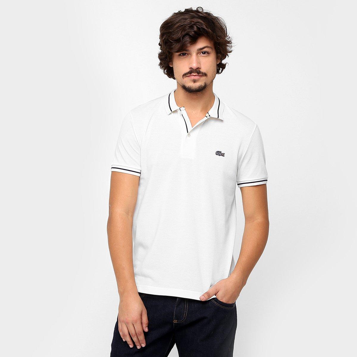 8588363ba1 Camisa Polo Lacoste Piquet Regular Fit - Compre Agora