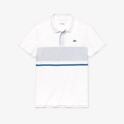 Camisa Polo Lacoste Sport Com Painel em Mesh Masculina - Masculino