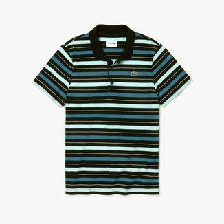 Camisa Polo Lacoste Sport Regular Fit Listrada Masculina