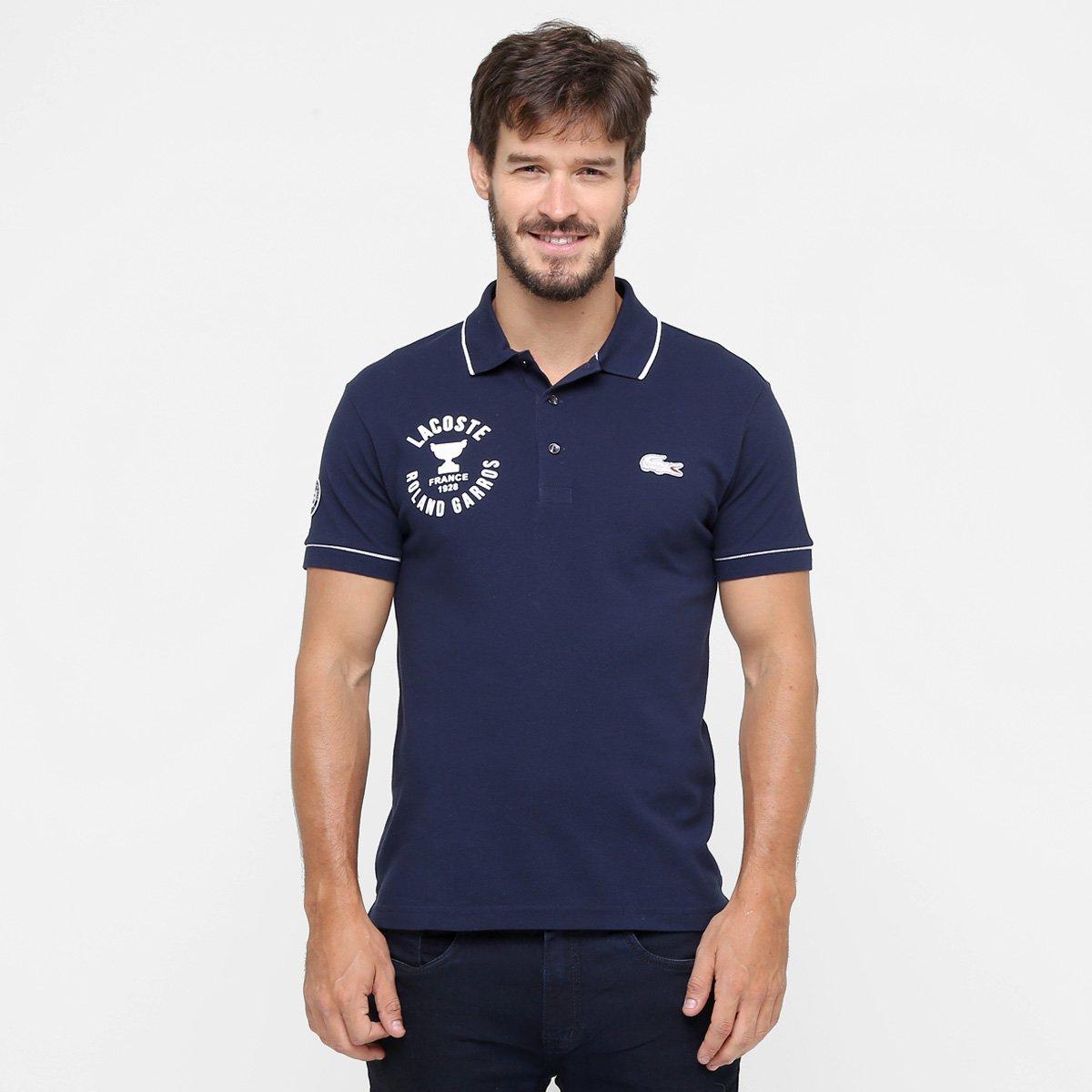 Camisa Polo Lacoste - Compre Agora   Netshoes 5aa8bd3316