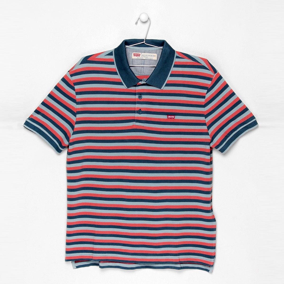 8f932b188d Camisa Polo Levi s Piquet Listras - Compre Agora