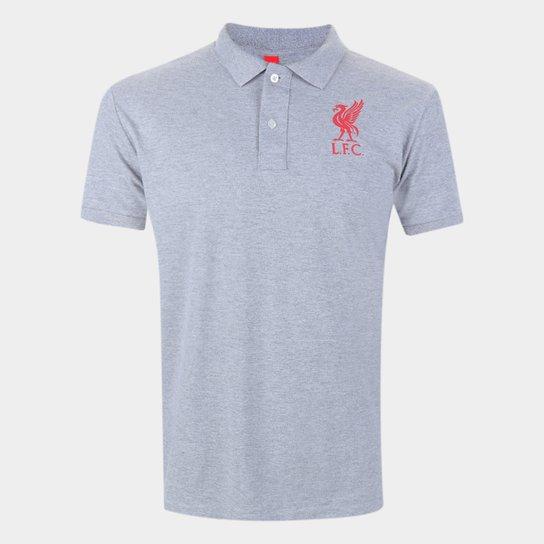 Camisa Polo Liverpool Básica Piquet Masculina - Branco