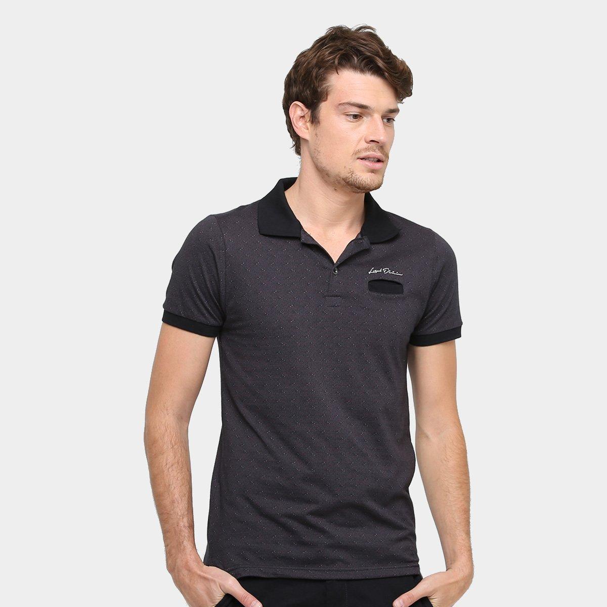 f35cb05848 Camisa Polo Local Malha Jaquard Bolso Masculina - Compre Agora ...