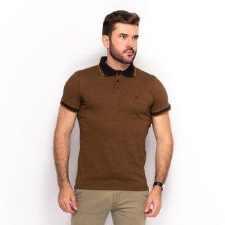 Camisa Polo Malha Teodoro Masculino Lisa Slim Dia a Dia