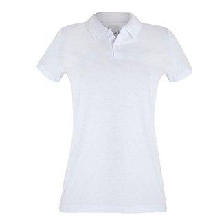 Camisa Polo Malwee Básica Feminina