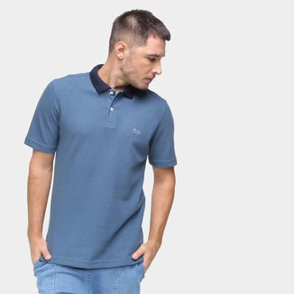 Camisa Polo Marc Ecko Masculina Botão Lisa Algodão Casual