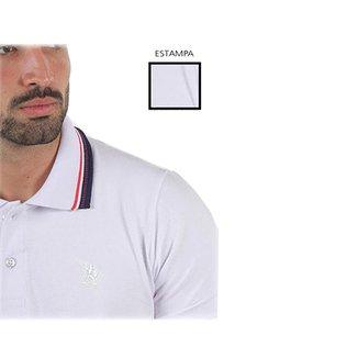 Camisa Polo Masculina Com Bordado