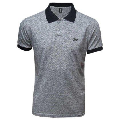 Camisa Polo Masculina Com Logo Metalizado  Polo RG518