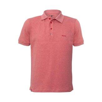 Camisa Polo Masculina Open Door Toro Vermelho