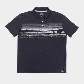 Camisa Polo Mormaii Plus Size Beach Masculina