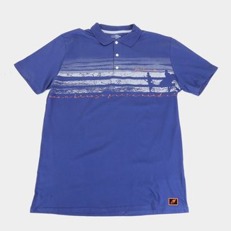 Camisa Polo Mormaii Plus Size Beach Masculina