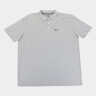 Camisa Polo Mormaii Plus Size Lisa Masculina